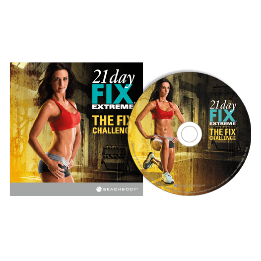 The Fix Challenge DVD
