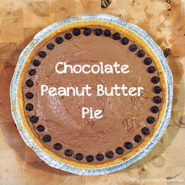 Chocolate Peanut ButterPie