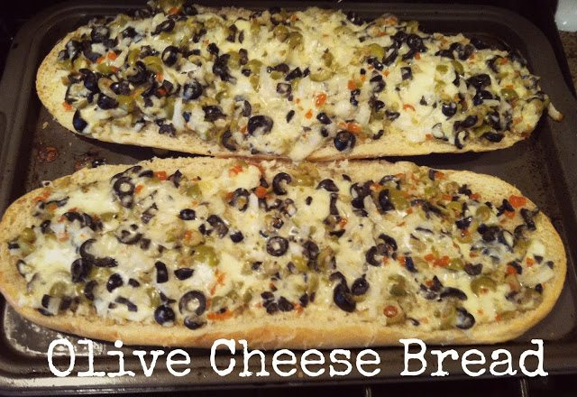 Guest Post: Olive Cheese Bread