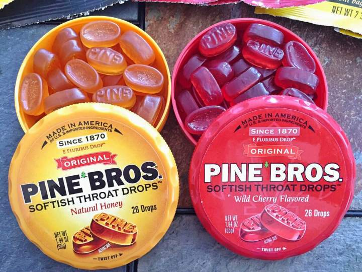 Pine Bros Softish ThroatDrops