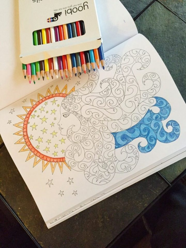 Adult Coloring Book Giveaway