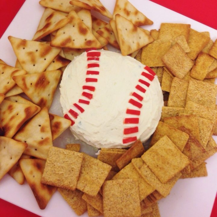 1…2…3…TRADITION:  #BostonStrong and Baseball Shaped Cheese Balls