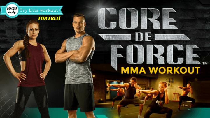 Core De Force – Free Sneak Peek Workout 10/24only!