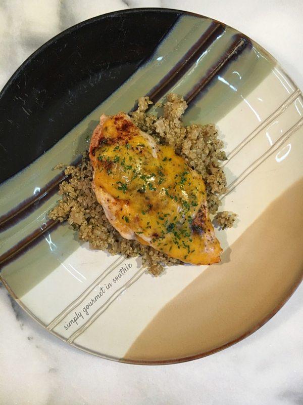 Broccoli and Cheddar Stuffed Chicken