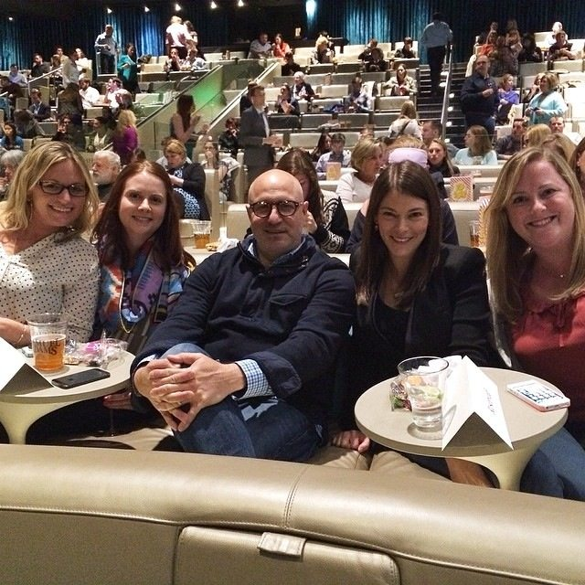 Dinner and a movie with Top Chef's Tom andGail